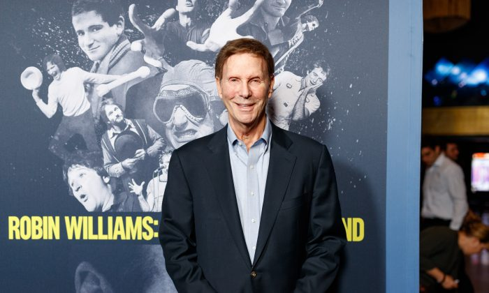 """Bob Einstein arrives to the Premiere Of HBO's """"Robin Williams: Come Inside My Mind"""" at TCL Chinese 6 Theatres in Hollywood, Calif., on June 27, 2018. (Christopher Polk/Getty Images)"""