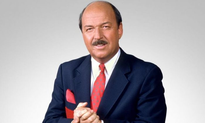 "Pro-wrestling announcer ""Mean"" Gene Okerlund died at the age of 76, said the WWE in a statement on Jan. 2. (WWE)"