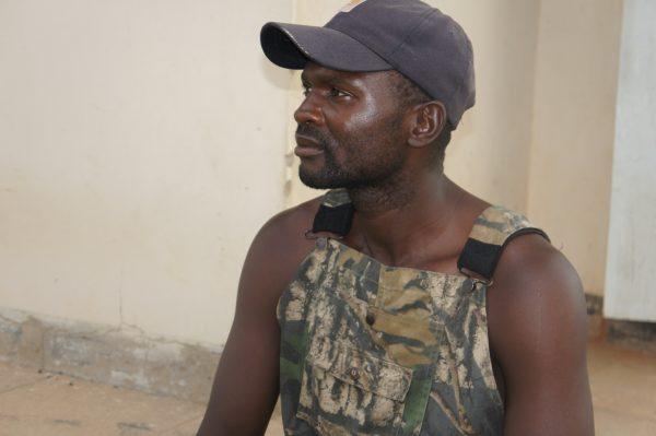 a tabacco farmer in Zimbabwe