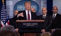 Trump Meets Press, Asks Border Patrol to Explain Need for Wall