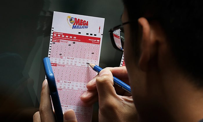 Some one hit it big—really big—in the New Year's Day Mega Millions drawing, scoring a $425 million jackpot all for him or herself. (Drew Angerer/Getty Images)