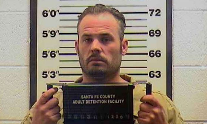 Heith Gleason, who is facing a murder charge in the killing of Colorado resident Amy Garcia, reportedly said following her death that his son 'just earned his man card.' (Santa Fe County Sheriff's Office)
