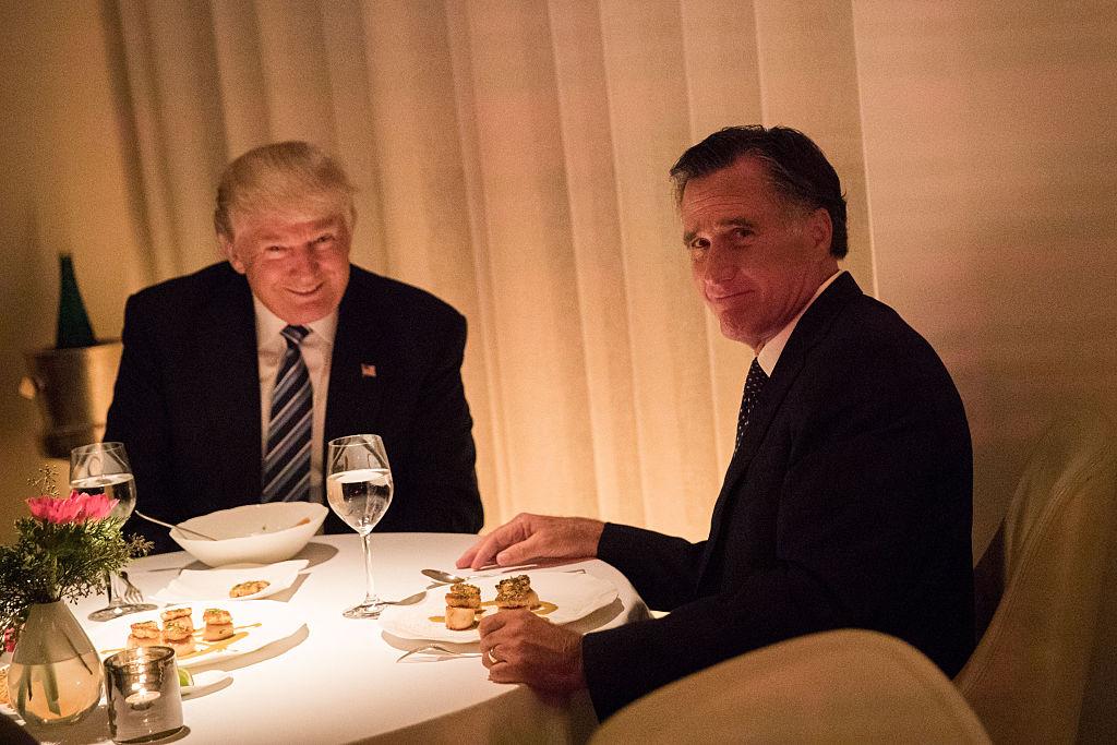 Trump and Romney meet