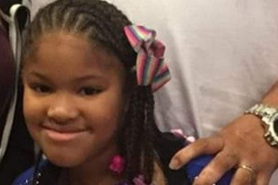 Jazmine Barnes, 7, was riding in a car with her family on Dec. 30, 2018, on the outskirts of Houston, Texas, when a gunshot killed her. (Justice for My daughter Jazmine/GoFundMe)