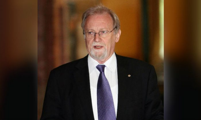 Former Australian Foreign Minister Gareth Evans in Sydney, Australia, on Oct. 21, 2008. (Torsten Blackwood/AFP/Getty Images)