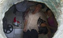 Couple Have Been Living Inside Sewer for 22 Years, Calling It Their 'Home'