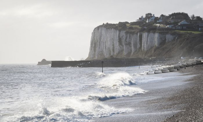 The white cliffs in England. (Leon Neal/Getty Images)