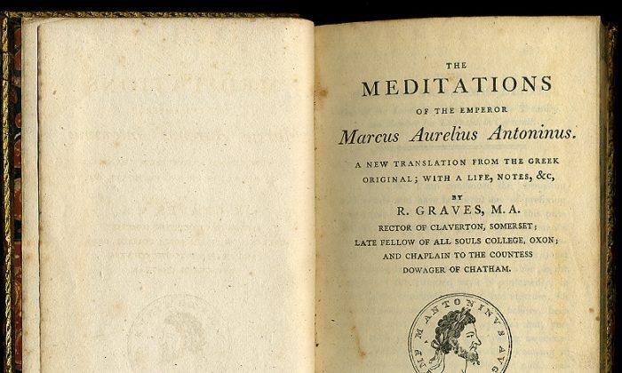 """""""Meditations"""" by Marcus Aurelius Antoninus. (Public domain)"""