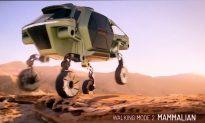 Hyundai Unveils Concept for 'Walking Car' on Legs