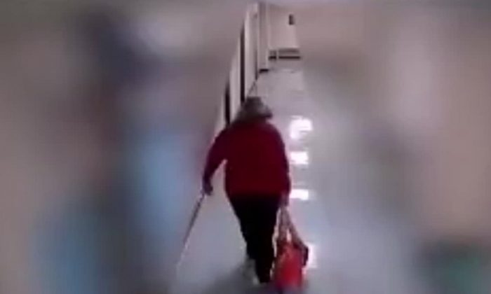 A Kentucky teacher dragged a 9-year-old boy with autism in October, video shows. (Greenup County School District)