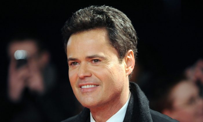 Donny Osmond attends the National Television Awards at 02 Arena in London, England, on Jan. 23, 2013. (Stuart Wilson/Getty Images)