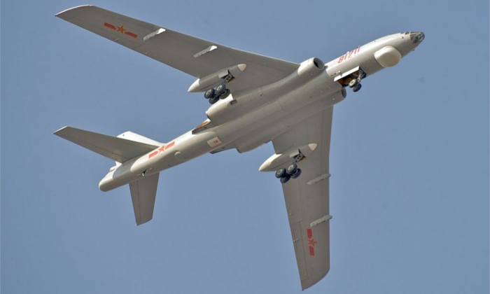 A Xian H-6, the type of bomber designed to drop China's newest MOAB. (Kevin McGill/Flickr [CC BY-SA-2.0 (ept.ms/2utDIe9)])
