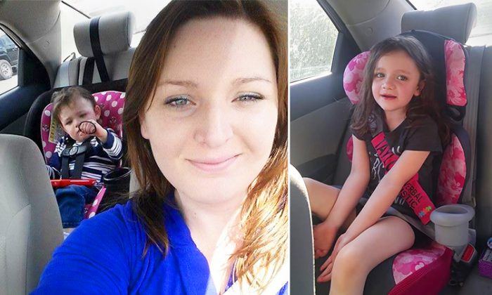 Alabama mother discovers her daughter hadn't developed her speech until the age of 2. But then one day she suprised her with the word 'Mama'. (Facebook | Briana Blankenship)