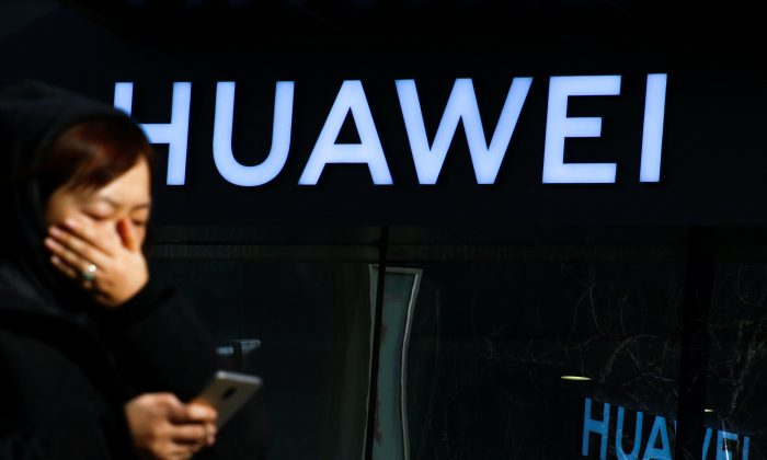 Chinese tech company Huawei is facing challenges to renewing a permit for its research branch in California due to national security concerns in Washington. (Thomas Peter/Reuters)