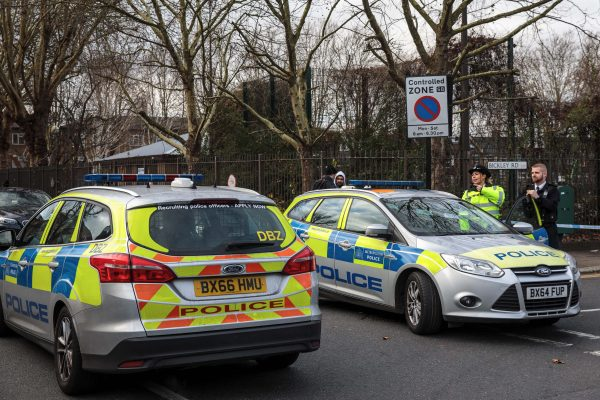 Police on the scene in Waltham Forest