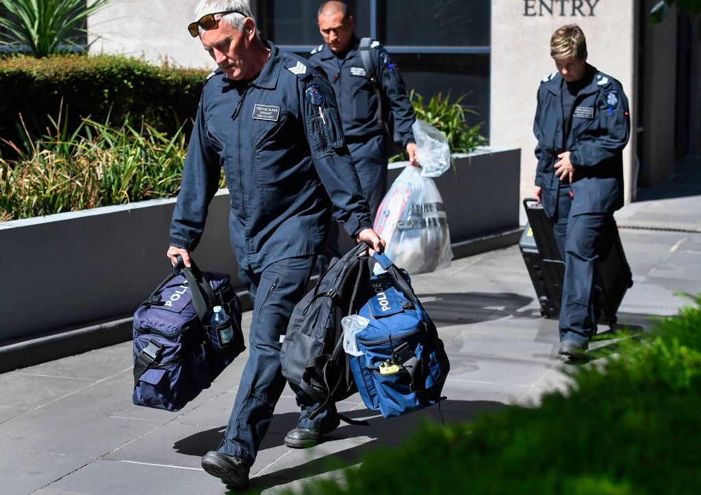 suspicious packages in consulates in melbourne 2