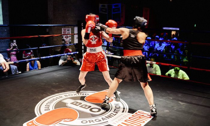 Boxing, much like bartending, is an oft-misunderstood profession. (Mark Tomaras Photography)