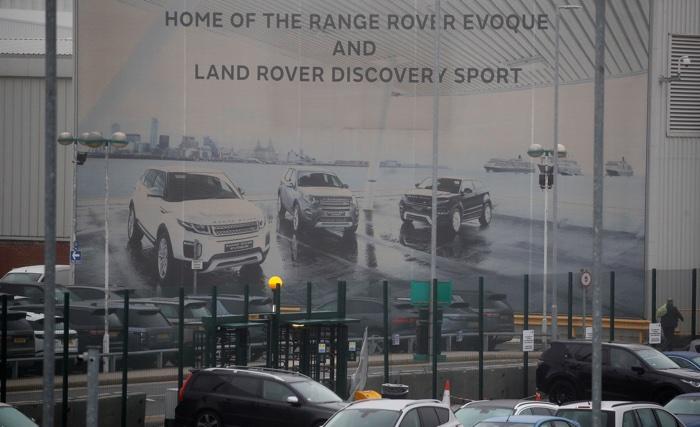 Jaguar Landrover's Halewood Plant