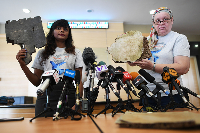 debris believed to be from flight MH370