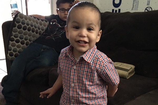 2-year-old Zion Gastelum, who died on Dec. 20, 2017, following a dental procedure. (GoFundMe)