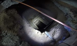 Mexican Police Find Tunnel Used to Smuggle Drugs and Migrants Into US
