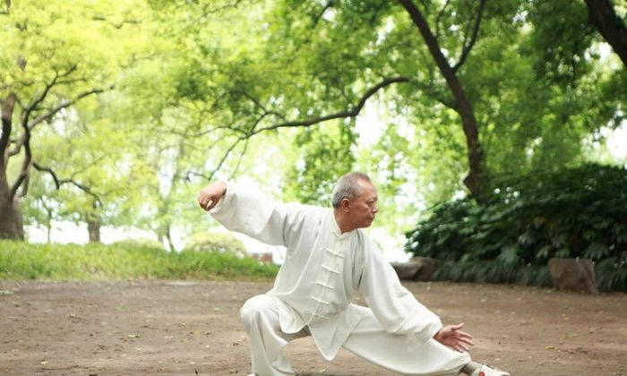Tai chi is excellent for balance and relaxation and an example of exercise we can perform at any age. (zhu difeng/Shutterstock)