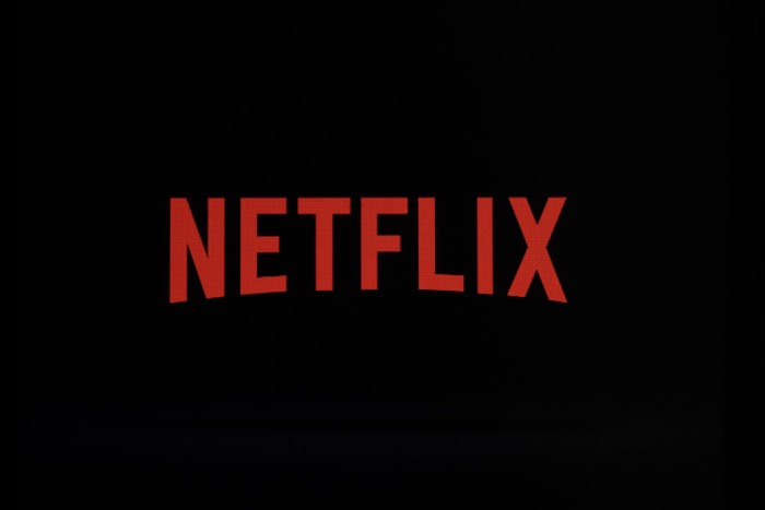 Netflix logo on an iPhone in Philadelphia
