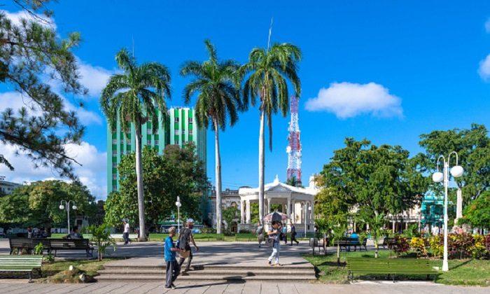 Leoncio Vidal park which is a Cuban National Monument and a tourist attraction in Santa Clara, VILLA CLARA, CUBA ,on Nov.07,2018   (Photo by Roberto Machado Noa/LightRocket via Getty Images)