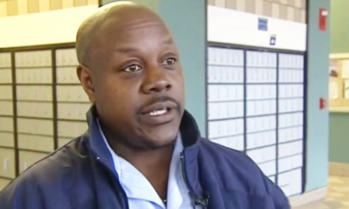 U.S. postal worker Willie Farrow saved regular customer Ann Richards's life at a crucial time in 2013. (YouTube Screenshot | WXII 12 News)