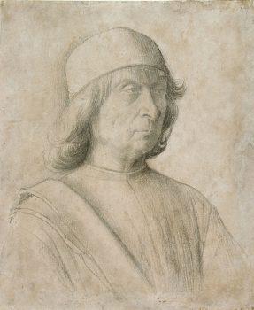Self-portrait by Bellini