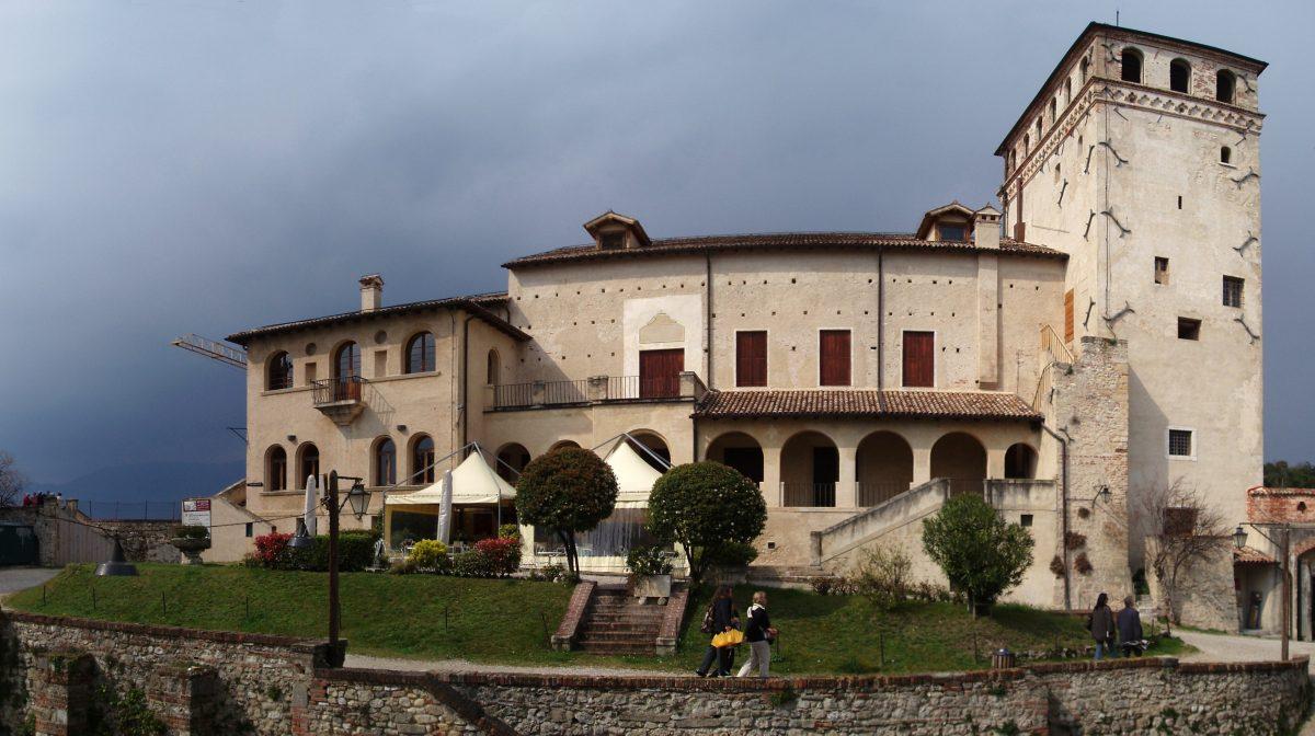 The castle of Queen Caterina Cornaro in Asolo, Italy