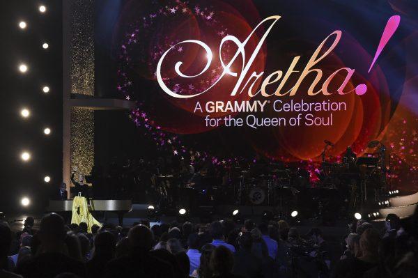 Grammy Celebration Aretha Franklin