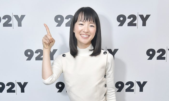 "Author and series host  Marie Kondo poses before taking part in Netflix's ""Tidying Up With Marie Kondo"" screening and conversation at 92nd Street Y on January 08, 2019 in New York City. (Michael Loccisano/Getty Images)"
