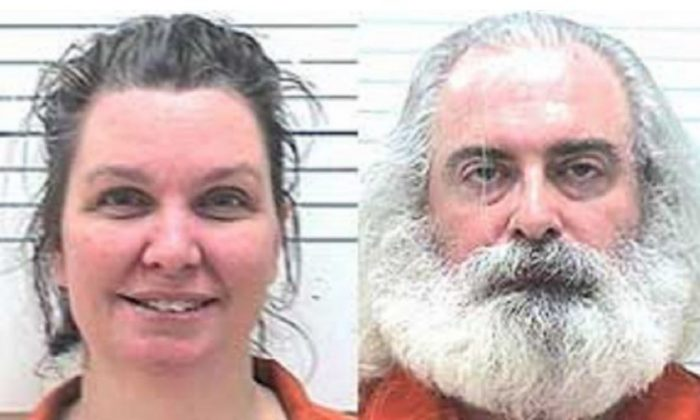 Bonnie Mills-Lilly and Henry Lilly III were charged with first-degree manslaughter after their 3-year-old daughter died in Lawton, Okla., on Jan. 3, 2019. The medical examiner later found that the girl had a 17-pound tumor. (Comanche County Sheriff's Department)