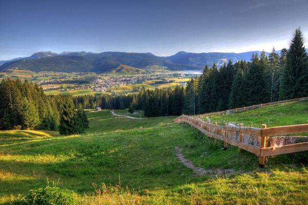 The stunning landscape of the Asiago plateau. (Roberto Costa Ebech)