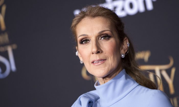 Singer Celine Dion attends the world premiere of Disney's Beauty and the Beast at El Capitan Theatre in Hollywood, Calif., on March 2, 2017. (Valerie Macon/AFP/Getty Images)