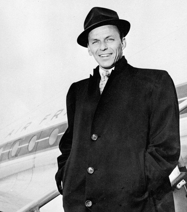 US singer Frank Sinatra