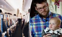 Little Boy Melts the Internet's Heart After Falling Asleep in Strangers Lap on Plane
