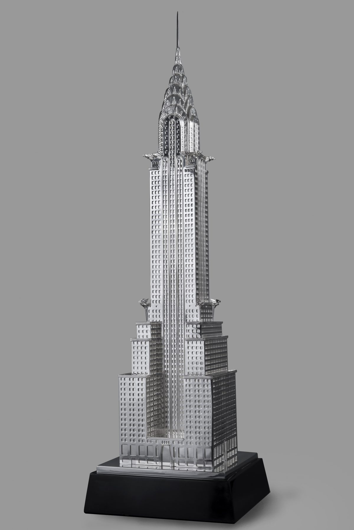 Chrysler building sterling silver