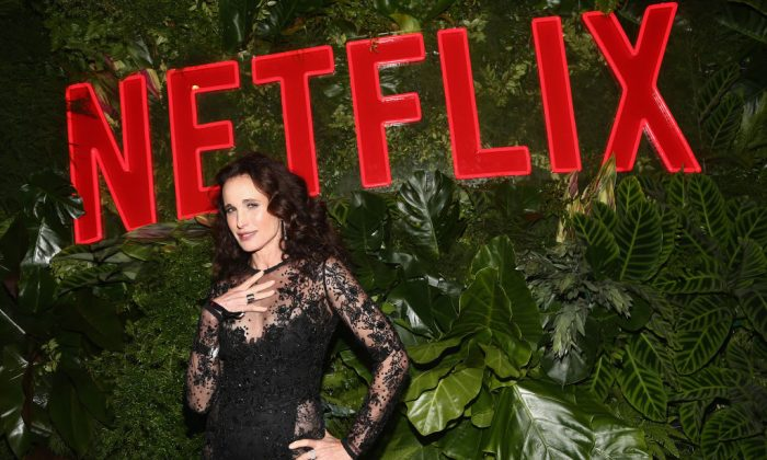 Andie MacDowell attends the Netflix 2019 Golden Globes After Party on Jan. 6, 2019 in Los Angeles, California.  (Tommaso Boddi/Getty Images for Netflix)