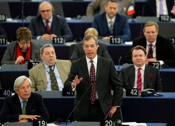 European Parliament Nigel Farage