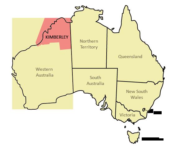 Kimberley in Australia