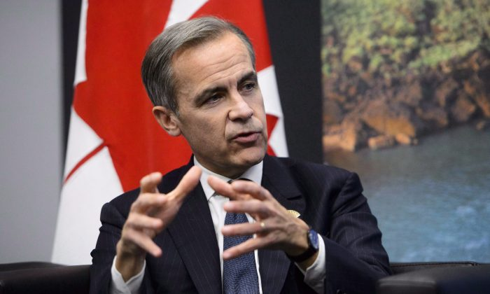 Bank of England governor Mark Carney  at the G20 Summit in Buenos Aires, Argentina on Nov. 30, 2018. Carney headed the Bank of Canada during the financial crisis. (The Canadian Press/Sean Kilpatrick)