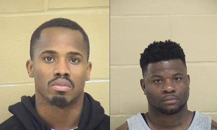 Treveon Anderson, boyfriend of Shreveport police officer Chateri Payne, and his cousin Glenn Frierson, were two of three men arrested for allegedly murdering Payne on Jan. 9, 2019. (Shreveport Police Department)