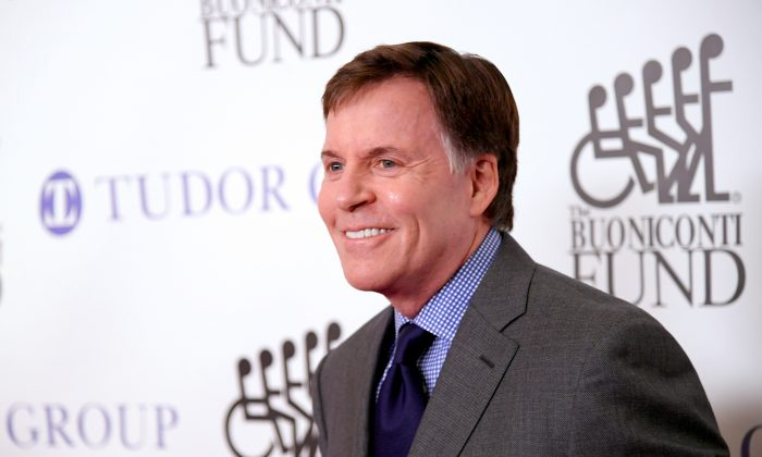 Master of Ceremonies Bob Costas attends the 33rd Annual Great Sports Legends Dinner, which raised millions of dollars for the Buoniconti Fund to Cure Paralysis at The New York Hilton Midtown on Sept. 24, 2018, in New York City. (Mike Coppola/Getty Images for Buoniconti Fund to Cure Paralysis )