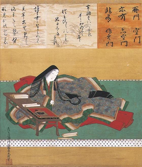 17th-century portrait of Murasaki Shikibu