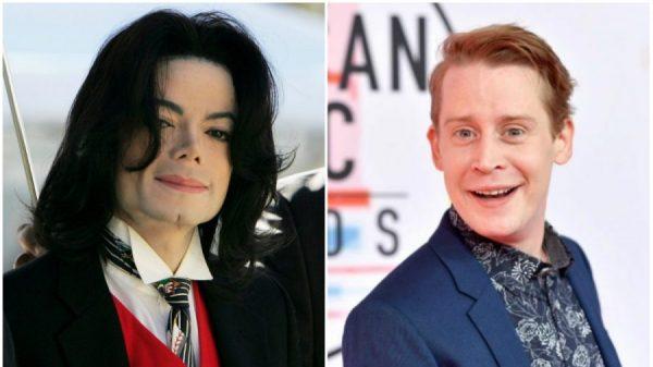 Michael Jackson and Macaulay Culkin