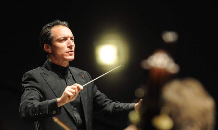 Conductor Damian Iorio. (Courtesy of Damian Iorio)
