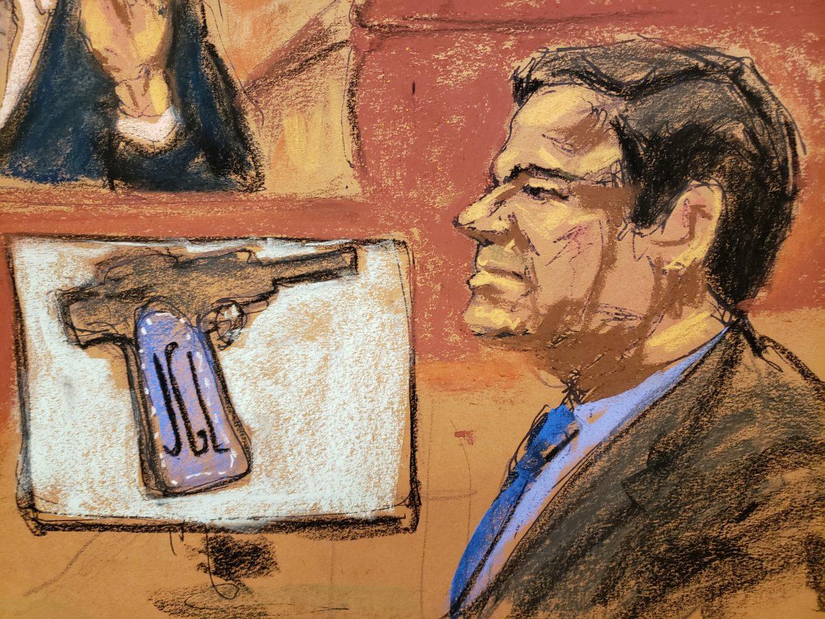 """Accused Mexican drug lord Joaquin """"El Chapo"""" Guzman"""