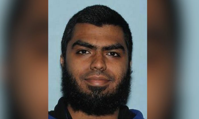 "The Maricopa County Sheriff's Office shows Ismail Hamed. The Arizona man facing a terrorism charge for brandishing a knife in an encounter with a sheriff's sergeant was carrying out a ""lone wolf"" attack, authorities said on Jan. 17, 2019. (Maricopa County Sheriff's Office/AP)"